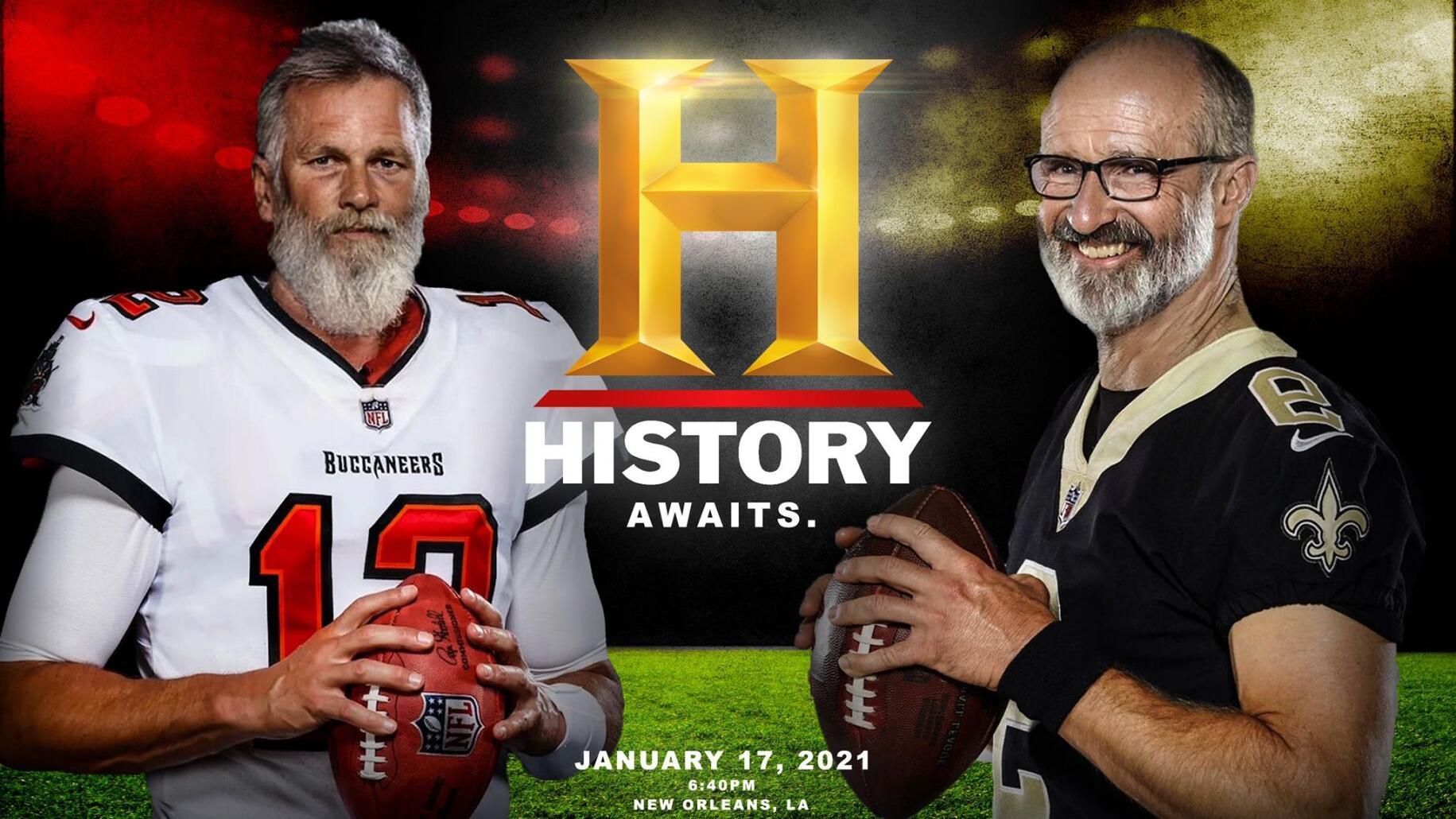 Saints on Tom Brady's 'History' meme: Drew Brees wants more hair, Cam  Jordan thought it was real   Saints   nola.com