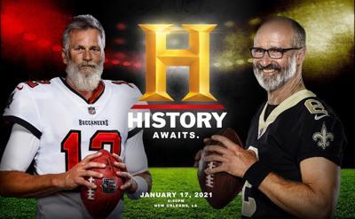 Drew Brees, Tom Brady History Channel