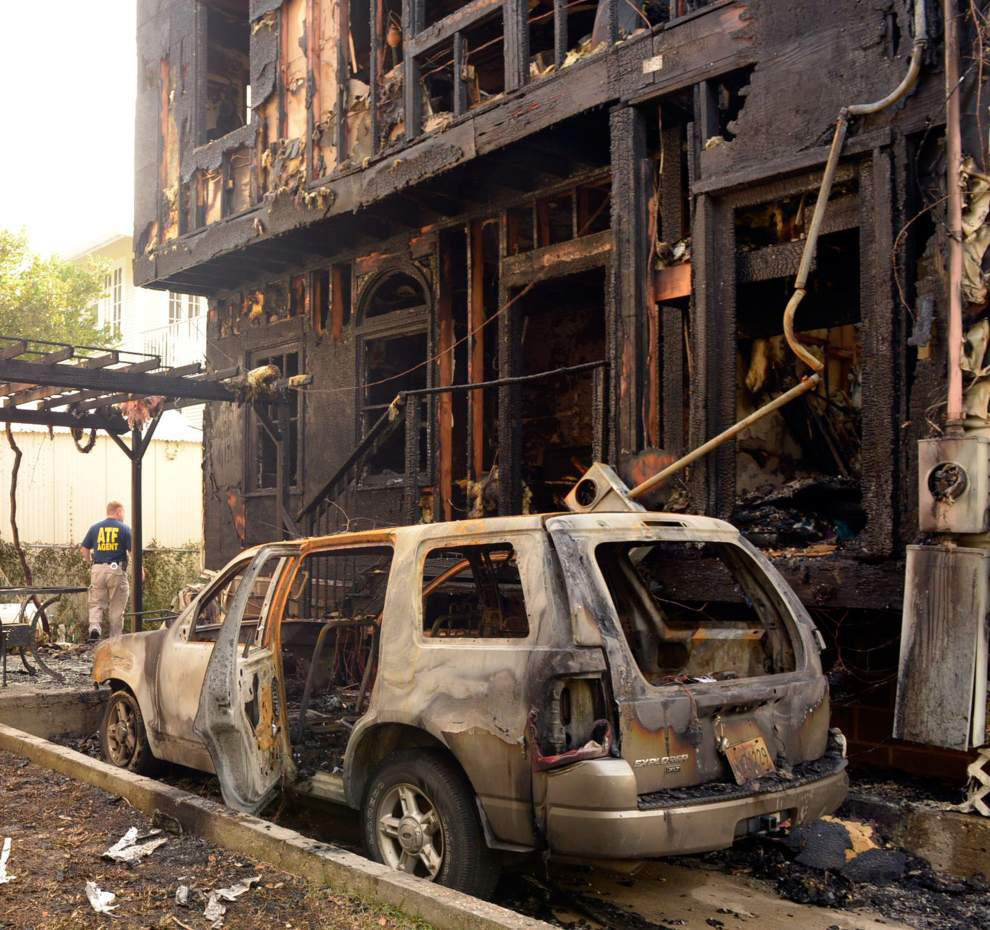 Apparent firebombing rattles Uptown, destroying home, vehicles; ATF: 'Definitely an arson' _lowres