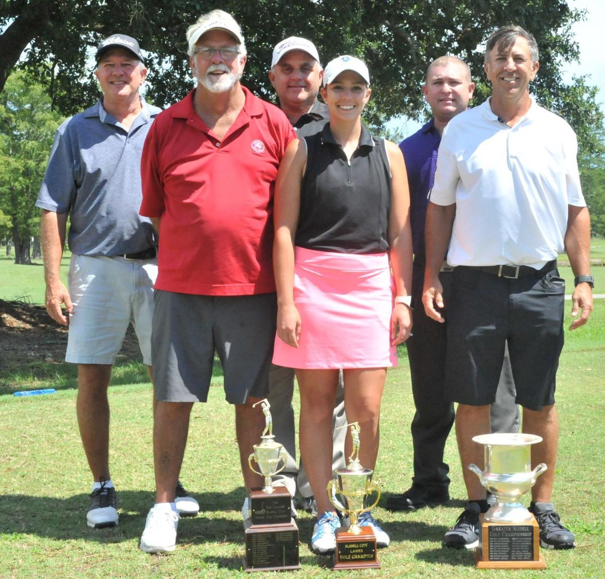 Slidell City Golf Championships Indiivdual Winners Group Shot