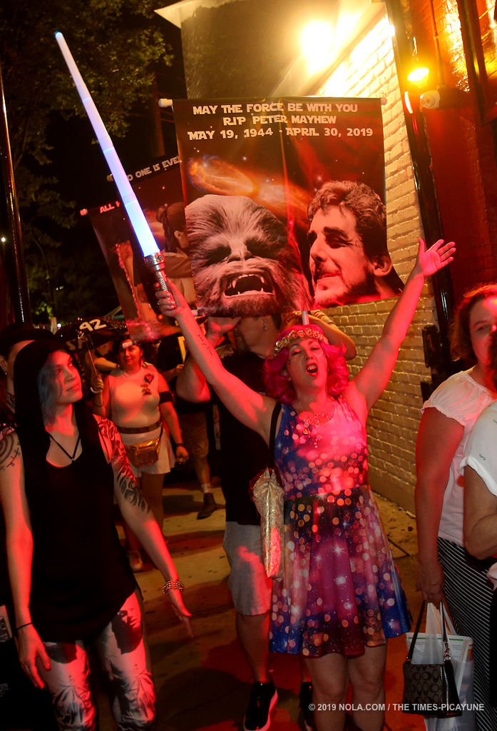 Intergalactic Krewe of Chewbacchus pays tribute to late actor Peter Mayhew: See the photos
