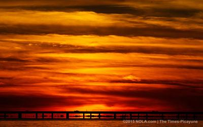 Mandeville sunset