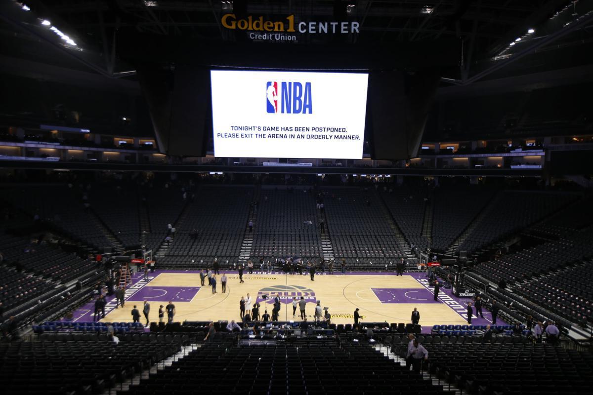 Virus Outbreak Pelicans Kings Postponed Basketball