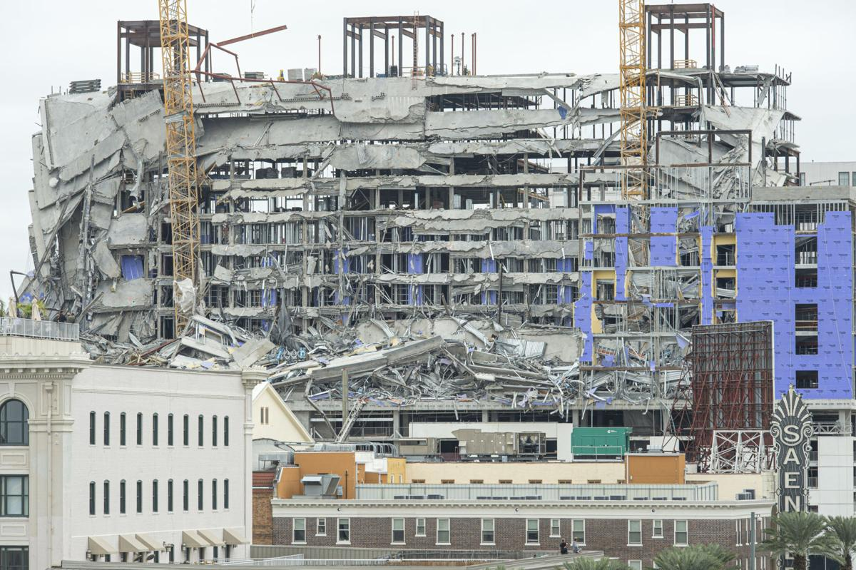 Hard Rock Hotel collapse in New Orleans