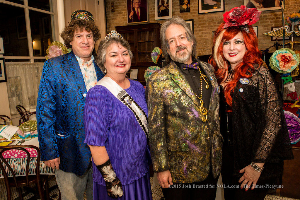 Tacky prom takes over Palm Court Jazz Cafe for New Orleans Musicians Clinic party