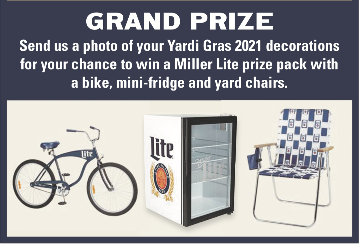 Yardi Gras Grand Prize 2021