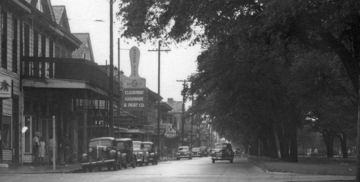 North Claiborne at Ursuline in 1947