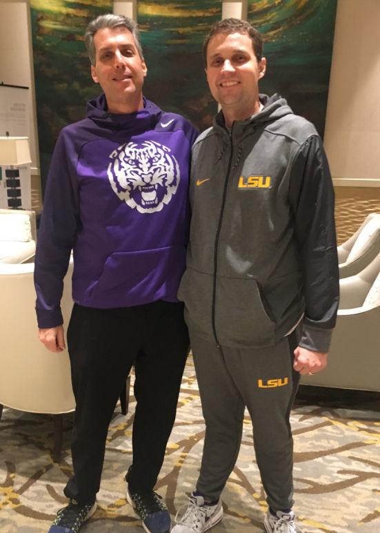 A piece of his mind: Meet LSU basketball's meditation coach, Greg Graber