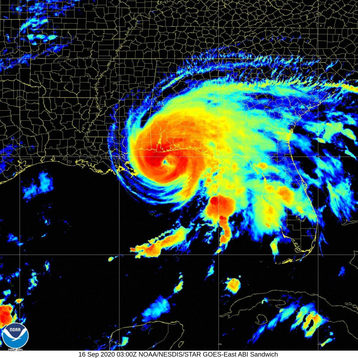 Hurricane Sally To Dump Record Rainfall On Florida Alabama As It Moves Ashore Environment Nola Com