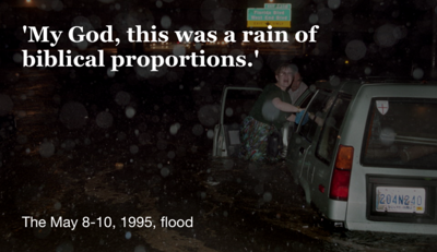 'A rain of biblical proportions': The May 8-10, 1995, flood
