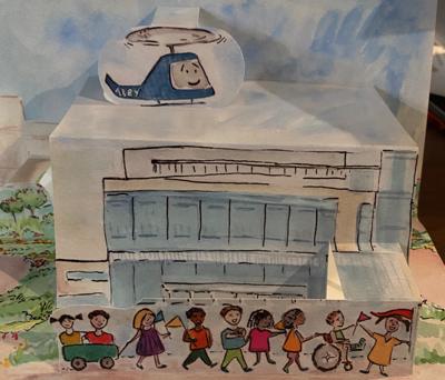 Children's Hospital grand opening invitation October 9, 2021