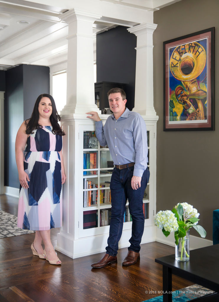 Turning the page: Renovation transforms former Gretna bookstore into fresh, modern home
