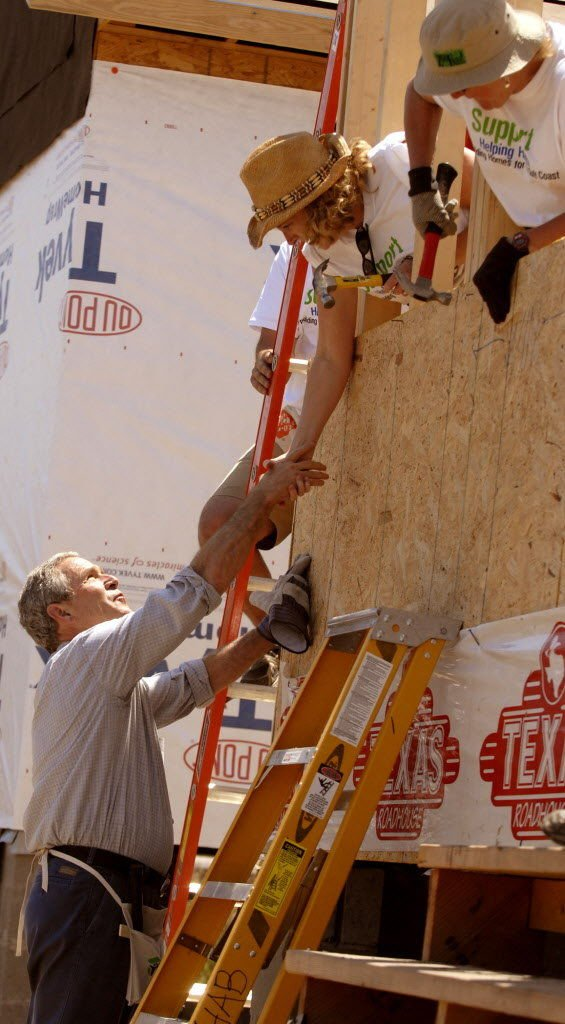 George W  Bush never recovered politically from Katrina