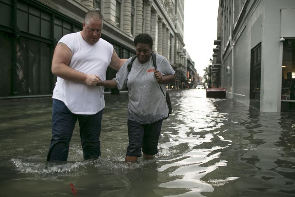 drainage canals in new orleans cbd found mostly clear  so