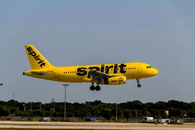 Spirit adding daily nonstop flight from New Orleans to Austin