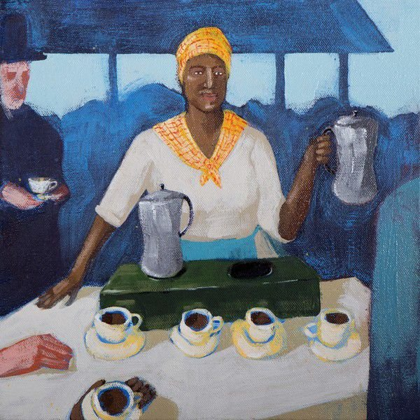 The former slave who opened the first French Market coffee stand