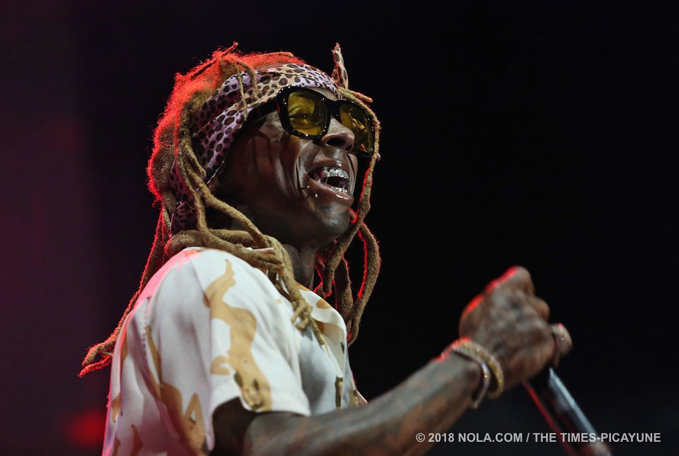 What did you think of Lil Wayne's halftime show during the Saints game?