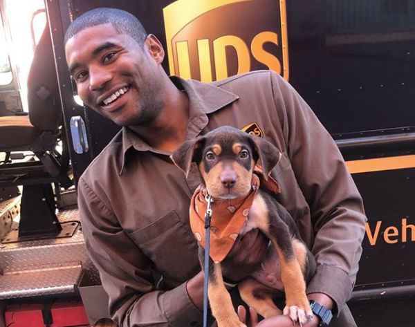 New Orleans UPS driver shares photos of the pups on his route