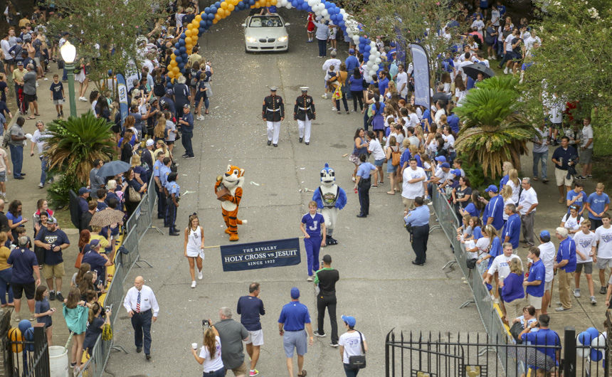 Jesuit, Holy Cross Krewe of Rivalry Parade