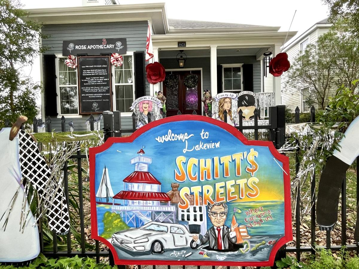 'Schitt$ Streets: Welcome to Lakeview' float house, 5975 Canal Blvd. .jpeg