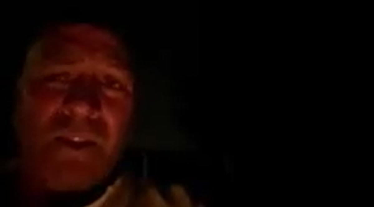 Higgins Facebook video screen grab
