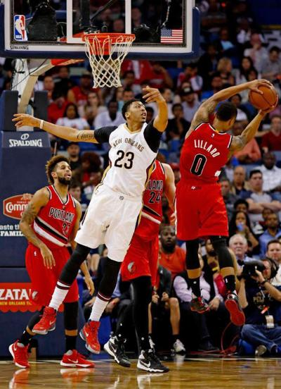 Pelicans' Anthony Davis doesn't make first- or second-team NBA All-Defensive units _lowres