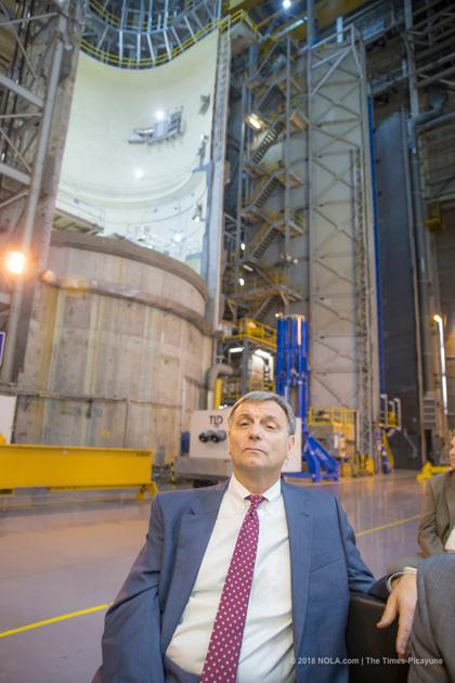 NASA officials unveil the latest rocket parts built in New Orleans