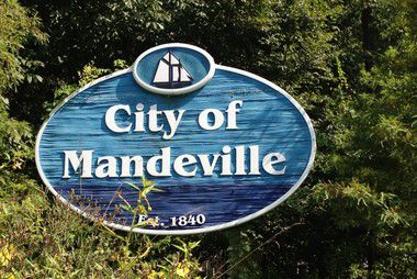 Mandeville sign logo