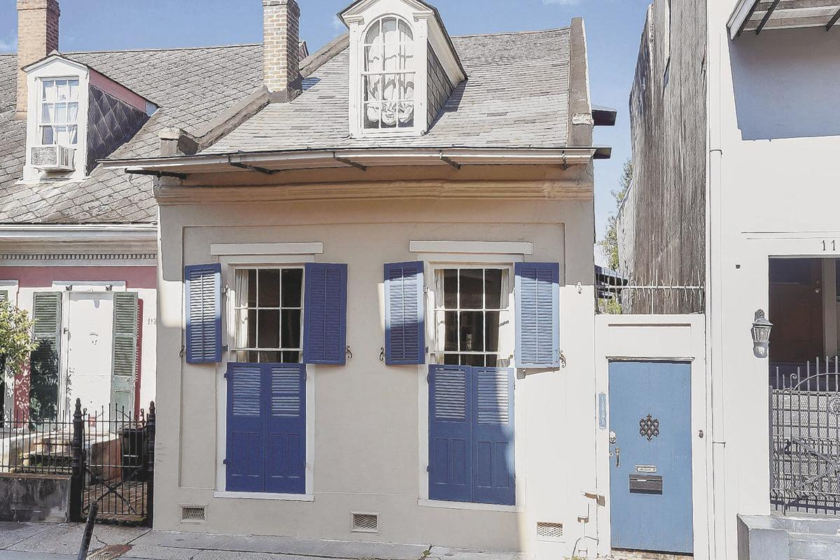 1129 Burgundy St. in the French Quarter