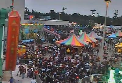 Louisiana Crawfish Festival Stampede