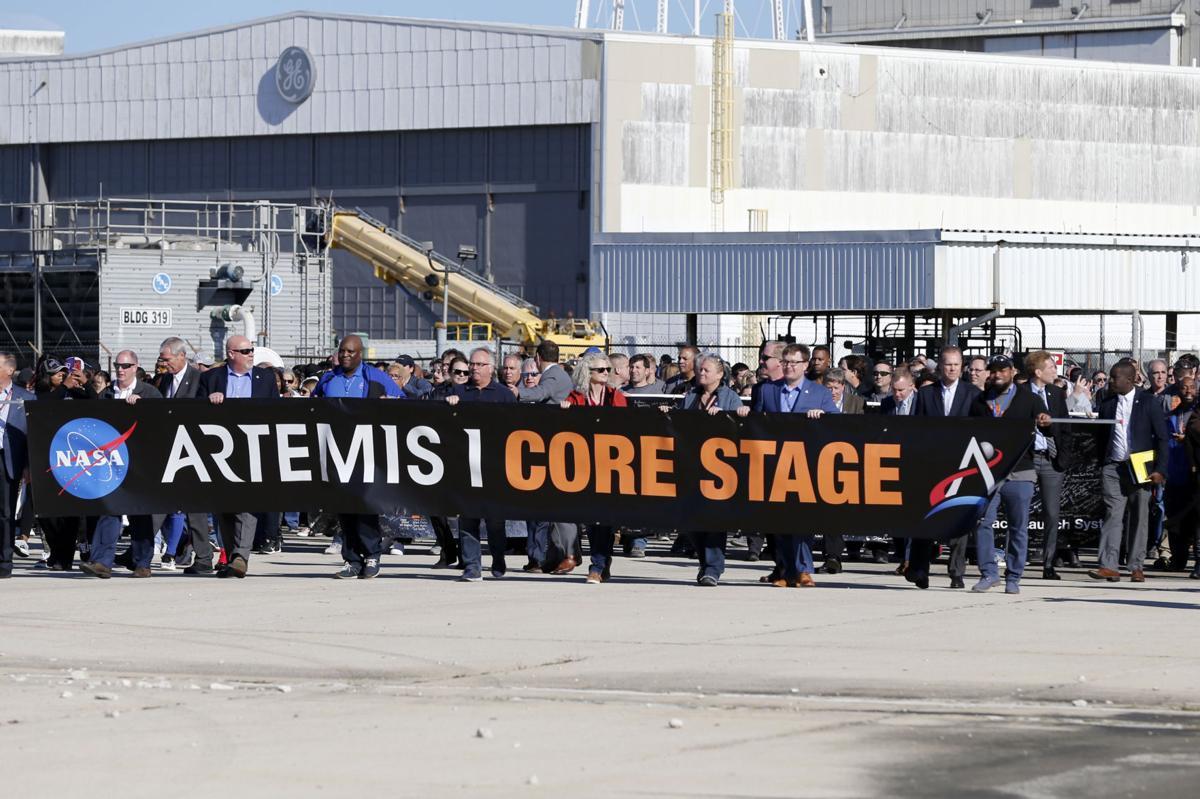 NASA Artemis Rocket