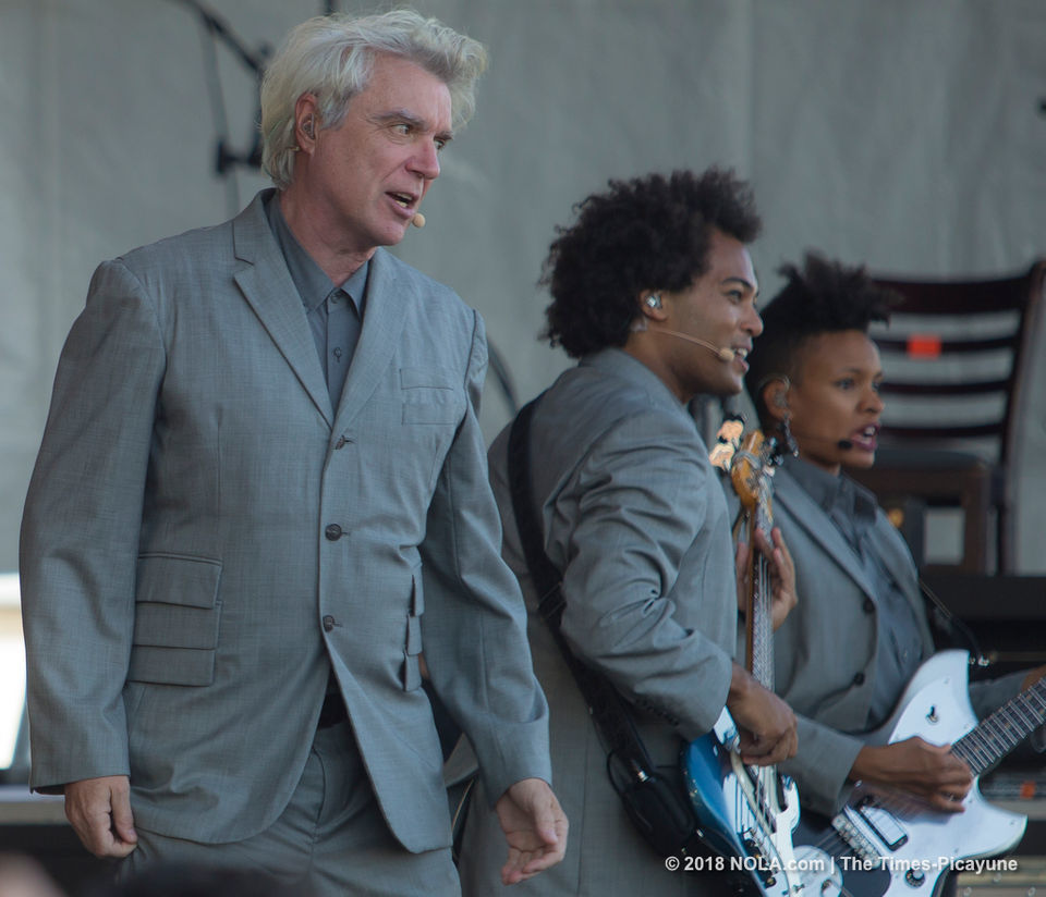 David Byrne cancels New Orleans show in Oct. Simple Minds due in Nov.