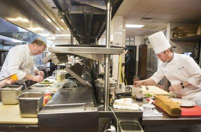 Chefs Tory McPhail and Chris Lynch at Commander's Palace
