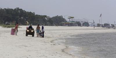 Mississippi beach closed