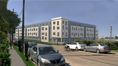 Apartment complex rising on old Winn Dixie site in Treme