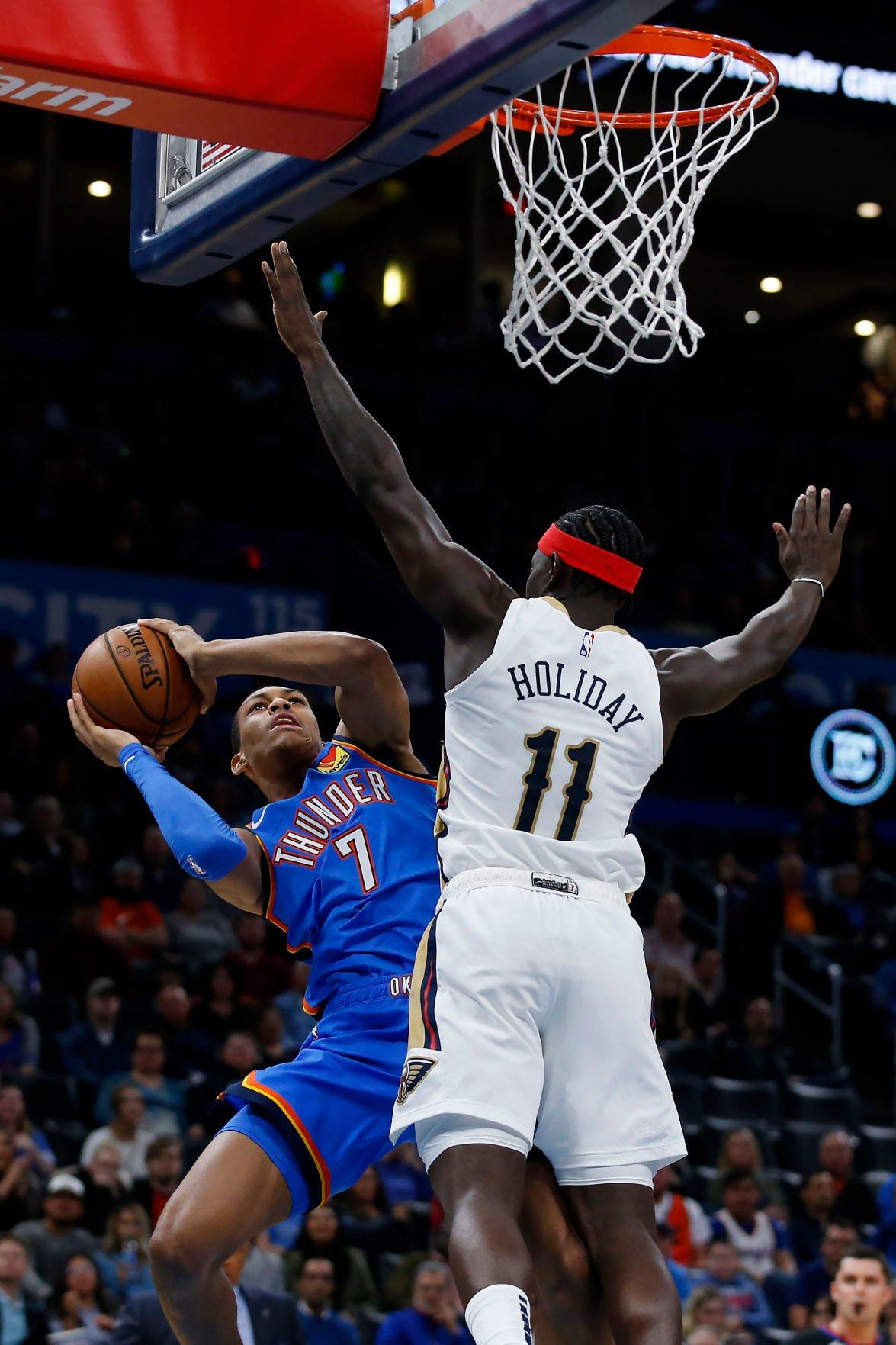 Pelicans Thunder Basketball