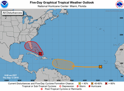 Tropical system heading for Florida better organized ...