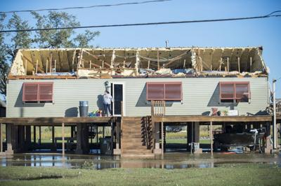 Hurricane Zeta roof damage in Chauvin