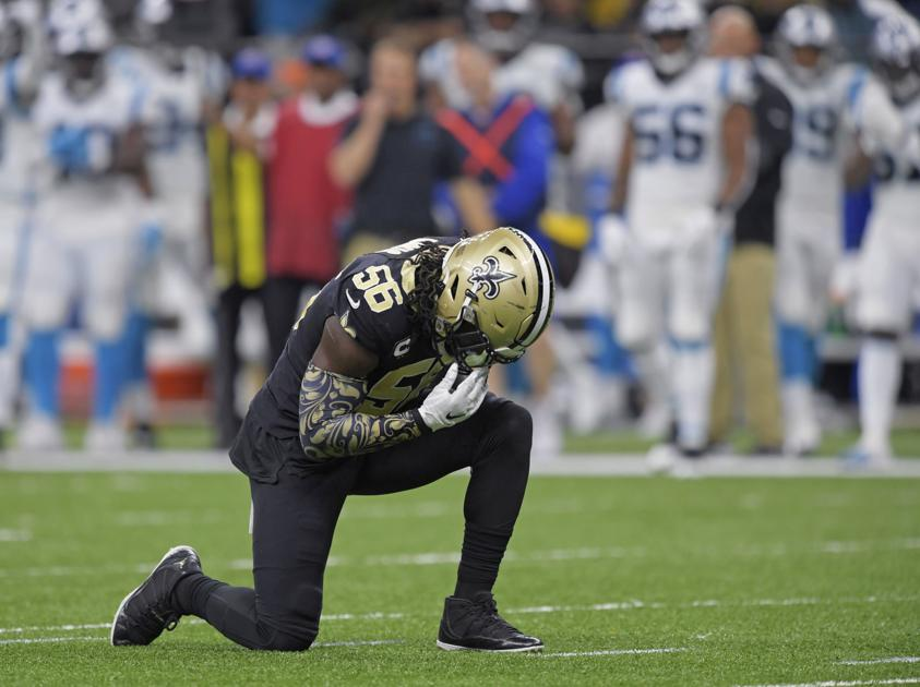 With America in turmoil, Saints' Demario Davis says the time for action is now