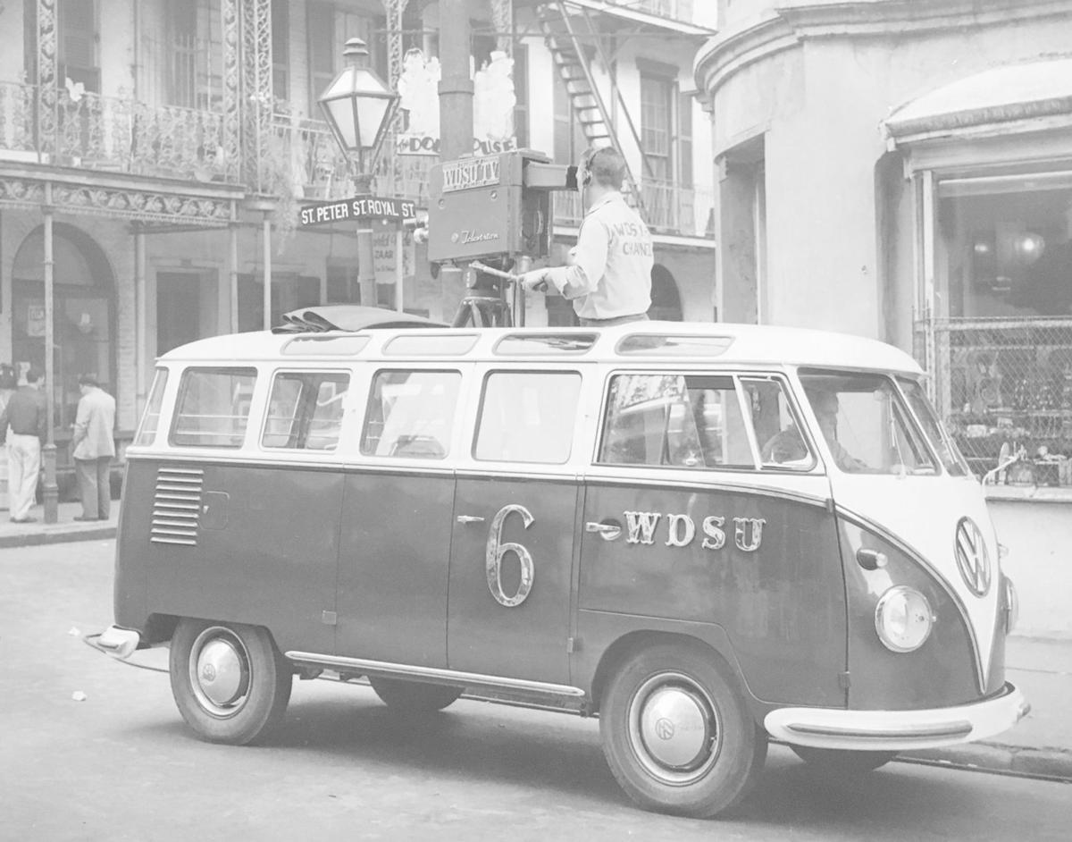 WDSU and the first TV broadcast in New Orleans history | 300 for 300