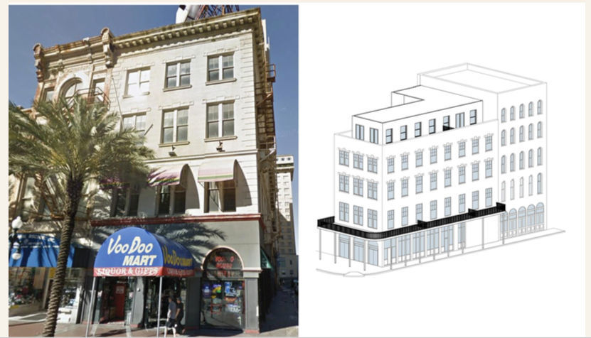200 short-term rentals planned for Canal Street's upper floors