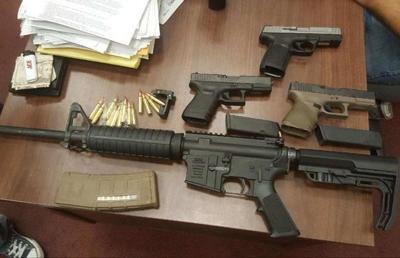 NOPD gun arrests Nov. 27, 2017