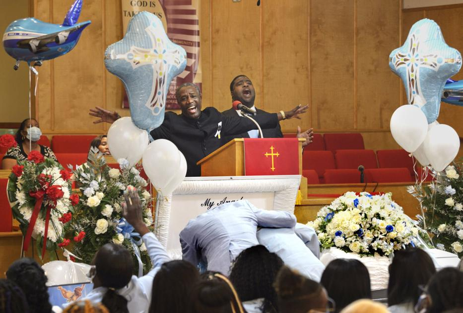 'We'll miss you, Dman': Tributes flow and tears fall at 9-year-old Devante Bryant's funeral