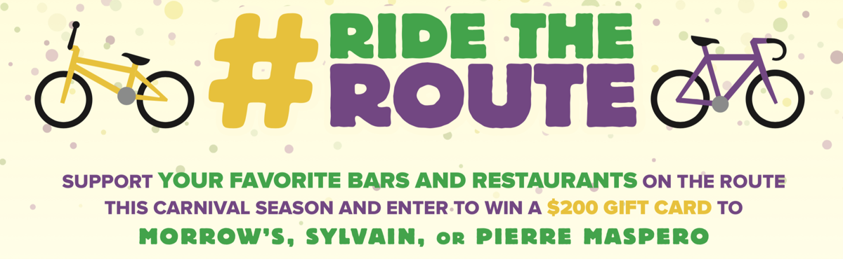 #RidetheRoute