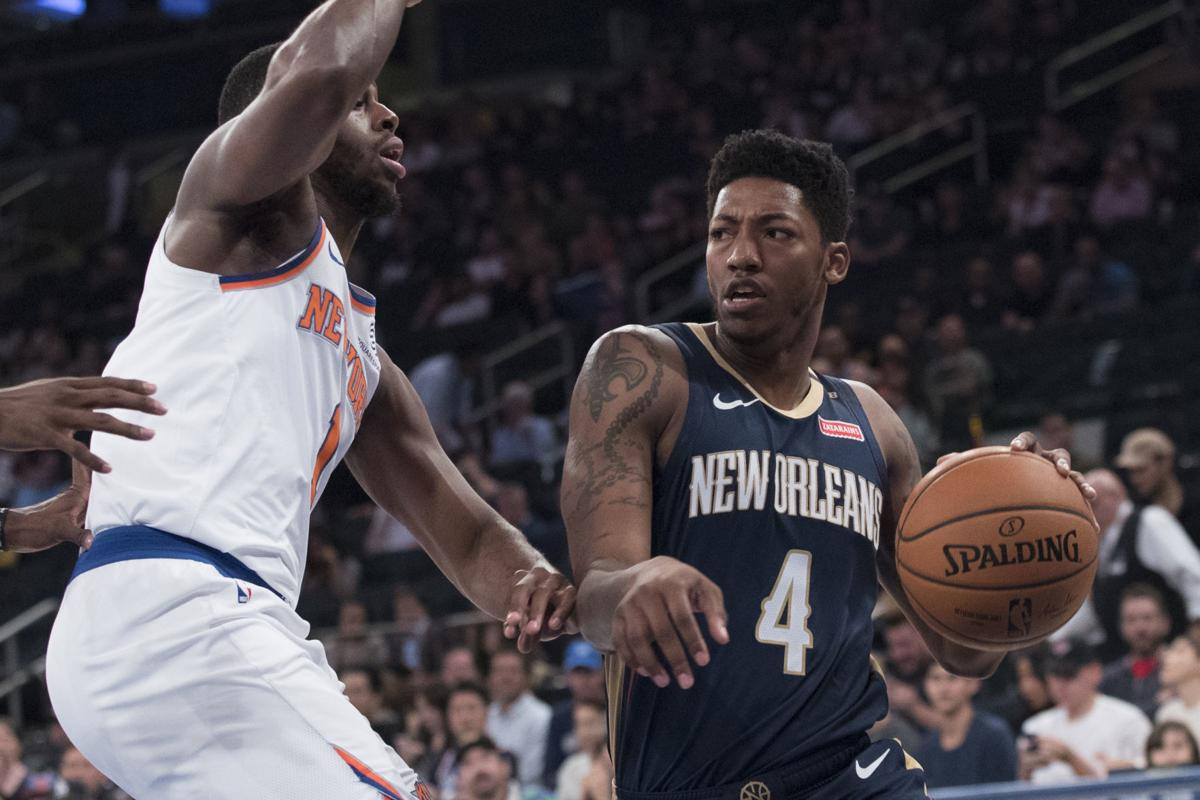 premium selection fccbc 1fc6c For Pelicans' Elfrid Payton, there's no place like home ...