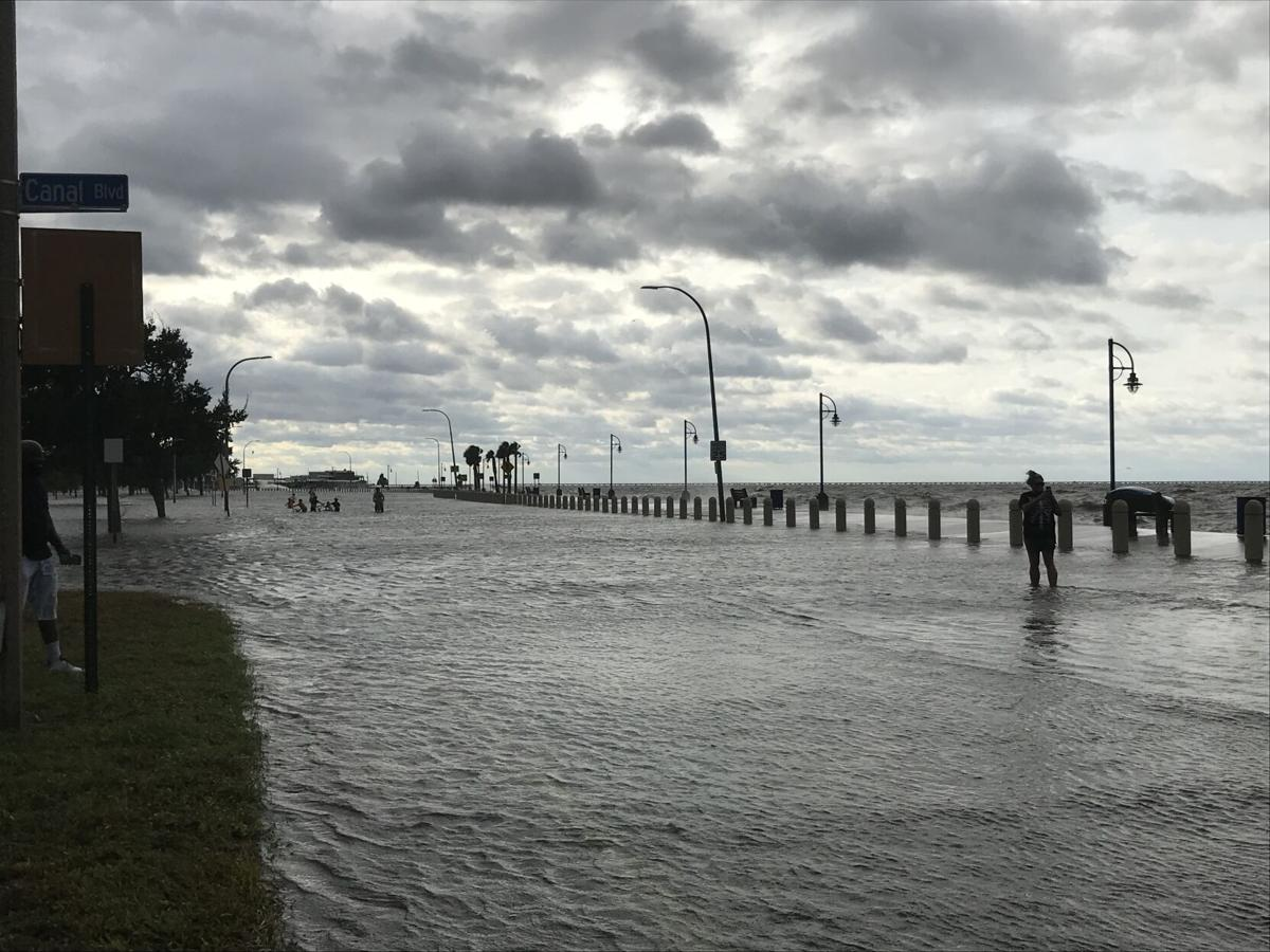 hurricane sally lake pontchartrain