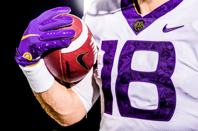 LSU unveils alternate uniforms in honor of 'The Silent Season'
