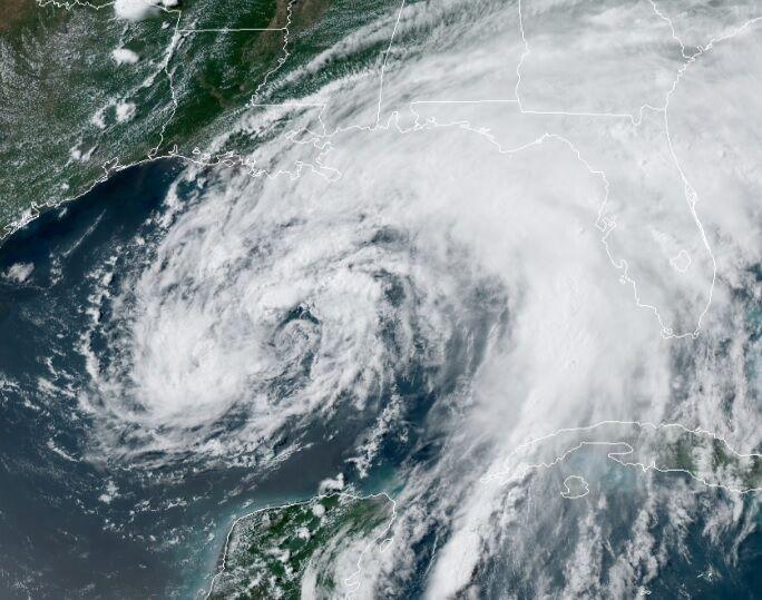 Tropical Storm Cristobal June 6, 2020 at 12:30 p.m.