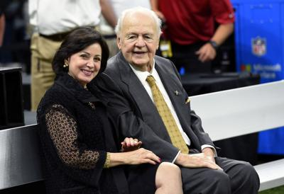 Tom Benson  and Gayle Benson (copy)