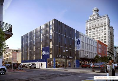 Fidelity Bank's new New Orleans headquarters will be at 353 Carondelet Street